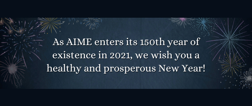 Happy New Year from AIME