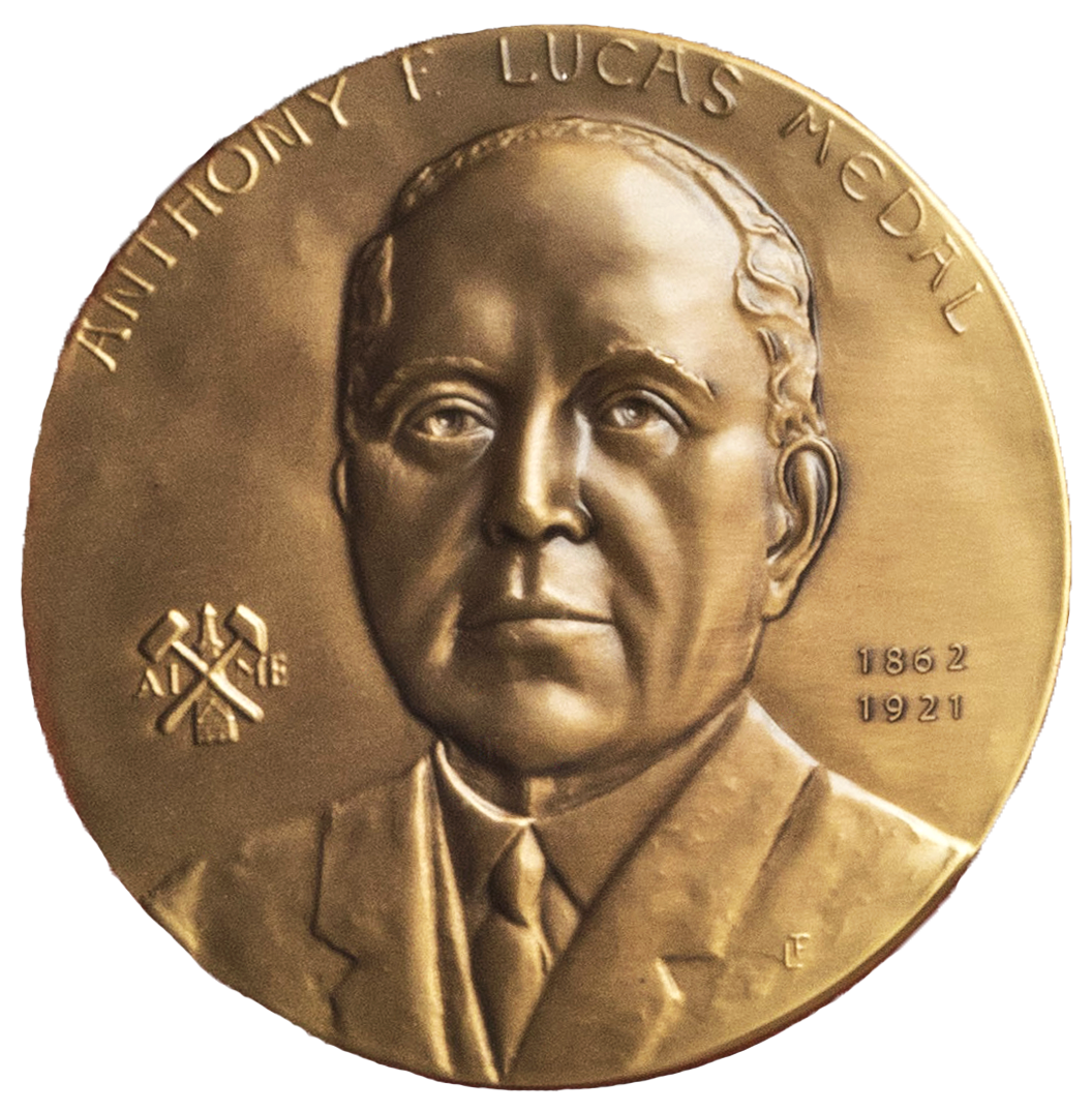 AIME Anthony F. Lucas Gold Medal